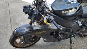 kawasaki zx10r 6 10 model wrecking