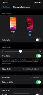 iOS 13 dark mode: How to manually enable Dark Mode in iOS 13 and ...