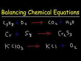 how to balance chemical equations you
