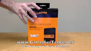 Gallagher M100 Energizer Youtube