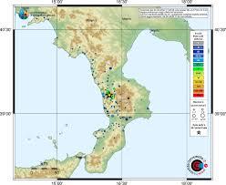 Il terremoto di oggi pomeriggio in Calabria: 6° grado Mercalli a ...