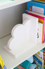 Cloud Bookends For Kids Room Baby Nursery Decor Shop Handmade Gifts Party Decor At Zcdgifts On Etsy Baby Nursery Decor Bookends Kid Room Decor