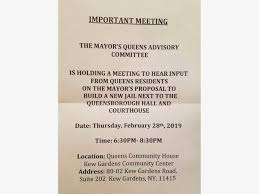 press at heated queens jail meeting