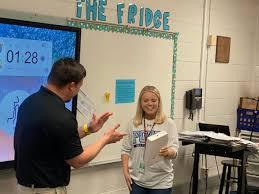 Apple for your teacher: Abigail Henderson, Hightower Trail Middle School    Briefs   mdjonline.com