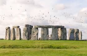 a broomstick shaped piece of stonehenge