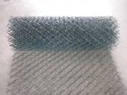 Plastic Coated Chain Link Fences In Rolls