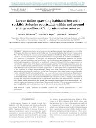 pdf larvae define sing habitat of