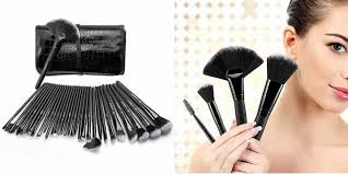 piece makeup brush set and their uses