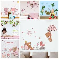 Big Discount D114 Zs Sticker Animals Wall Stickers Nursery Decor Kids Room Wall Decal Children Vinyl Baby Room Decorative Self Adhesive Decoration Cicig Co