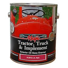Majic Tractor Truck Implement Enamel Ih Red 1 Gal 8 2972 1 At Tractor Supply Co