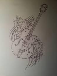 Guitar Drawing Music Drawings Guitar Drawing Cool Drawings
