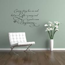 Every Story Has An End Life Beginning Wall Decals Trading Phrases