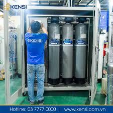 Hệ thống máy lọc nước nhiễm mặn Kensi 500LH