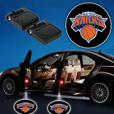 2 Nba New York Knicks Wireless Led Car Door Projectors Tshirtnow