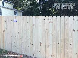 Residential Wood Fencing Fortress Fencing