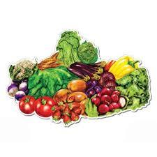 Farmers Market Fresh Fruits And Vegetables Vinyl Sticker Waterproof Decal Sticker 5 Walmart Com Walmart Com