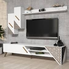 Beril Tv Ünitesi - Beyaz - Mobilya Ürünleri