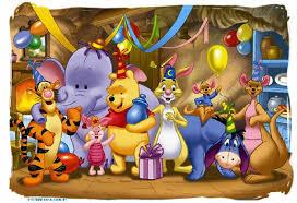 Tarjetas De Cumpleanos Winnie Pooh Bebe Para Regalar 10 Hd