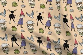 over the garden wall pattern spoonflower