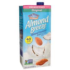 blue diamond almond coconut blend