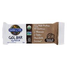 gol protein bar chocolate coconut