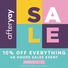 Celebrate AfterYAY! Day with 10% off ...