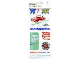 Paper House Sticker Clear Cuts Grandpa Createforless