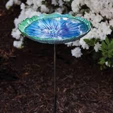 glass bird bath bowl birdcage design