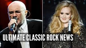 Adele Addresses Phil Collins Rumors - YouTube