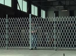 Storefront Window Folding Security Steel Gates Los Angeles County Ca