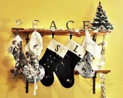 stockings without a mantel