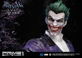 batman arkham origins the joker scale statue by prime