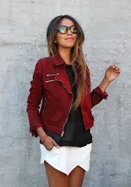 dark red jackets fashion dresses