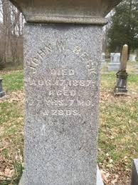 John Wesley Beck (1809-1887) - Find A Grave Memorial