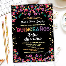 Invitacion De Quinceanos Quinceanera Invitation Mis Quince