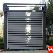 China Wholesale Hard Metal Rolling Up Garage Door China Industrial Door Hard Metal Door