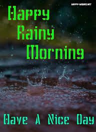30 good morning wishes for a rainy day