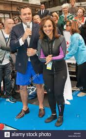 New York, NY - Greg Kelly and Rosanna Scotto attend the 'Swim for Relief'  Benefiting Hurricane Sandy Recovery at Herald Square. AKM-GSI October 9,  2013 Stock Photo - Alamy