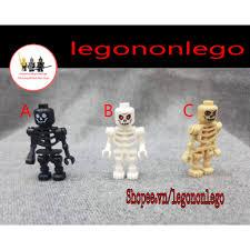 Minifigure mô hình bộ xương Ninjago Halloween hải tặc cướp biển ...