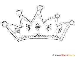 Online Kleurplaat Kroon