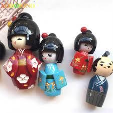Mới HANDMADE Dễ Thương Phương Đông Nhật Bản Nước Hoa Nữ Kokeshi Bé Gái Búp  Bê