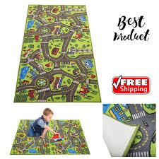 Baby Kids Play Rug Floor Mat Toy Large Carpet City Road Game Foam Children Room For Sale Online Ebay