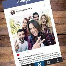 Tarjeta Invitacion Estilo Instagram Con Foto 15 Anos