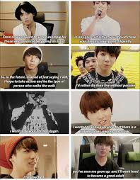 aww our baby kookie is growing up so fast jungkook bts lyric
