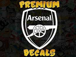 Sponsored Ebay Arsenal Vinyl Decal Sticker Futbol Football Soccer Club Fifa League Custom Sizes Soccer Club Vinyl Decal Stickers Futbol