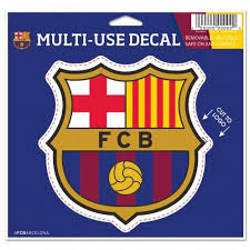 Fc Barcelona 4 X 4 Multi Use Die Cut Decal Window Car Or Laptop Me Hub City Sports