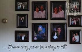 Every Picture Family Wall Quote Family Wall Decals Vinyl Art Stickers