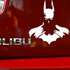Batman Superhero Car Window Laptop Vinyl Die Cut No Background Decal Cm002