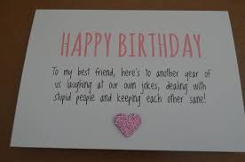 birthday quotes humourous best friend birthday card flickr