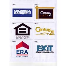 National Franchise Clear Logo Decals Set Of 6